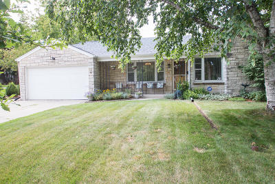 Greenfield Single Family Home Active Contingent With Offer: 5000 W Midland Dr