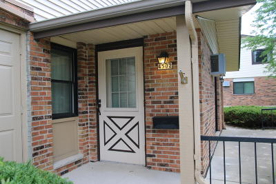 Greenfield Condo/Townhouse Active Contingent With Offer: 4502 S Greenridge Cir