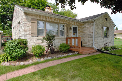 Muskego Single Family Home Active Contingent With Offer: W162s7933 Bay Lane Pl