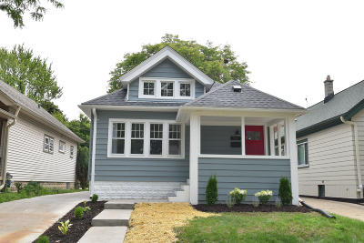Wauwatosa WI Single Family Home Active Contingent With Offer: $335,000