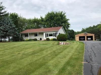 Marinette County Single Family Home For Sale: W7750 Wayside Rd