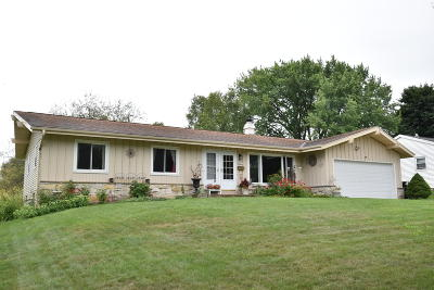 Menomonee Falls Single Family Home Active Contingent With Offer: W142n8352 Oxford St