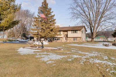 Racine County Single Family Home Active Contingent With Offer: 8229 Wheatland Rd