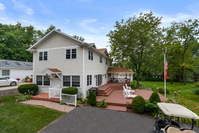 Lake Geneva Single Family Home For Sale: N1789 Spring Rd