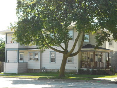 Racine Single Family Home For Sale: 1301 Monroe Ave #1301 1/2