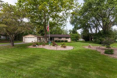 Menomonee Falls Single Family Home Active Contingent With Offer: W148n6131 Wampum Dr