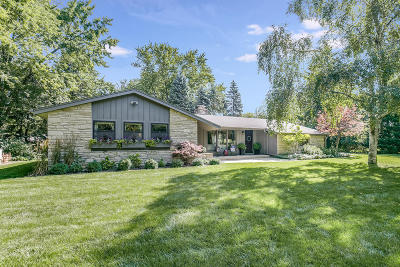 Racine County Single Family Home Active Contingent With Offer: 140 Burrline Rd