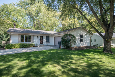 Waukesha Single Family Home Active Contingent With Offer: 609 Norwood Ct