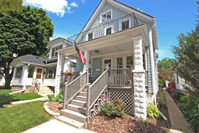 West Allis Two Family Home Active Contingent With Offer: 1020 S 75th St #1022