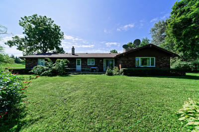 Waukesha County Single Family Home For Sale: 16300 W Beloit Rd