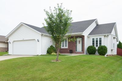West Bend Single Family Home Active Contingent With Offer: 2713 Eagles Ct