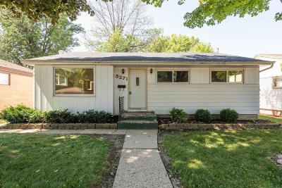 Milwaukee, Waukesha, Wauwatosa, Menomonee Falls, New Berlin, Butler, Pewaukee, Glendale, Bayside, Shorewood, Oak Creek, Greendale, Hales Corners, Elm Grove Single Family Home For Sale: 5271 N 83rd St
