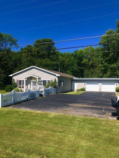 Menominee Single Family Home Active Contingent With Offer: N2125 Hwy M 35