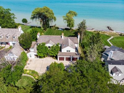Racine County Single Family Home For Sale: 3411 Michigan Blvd