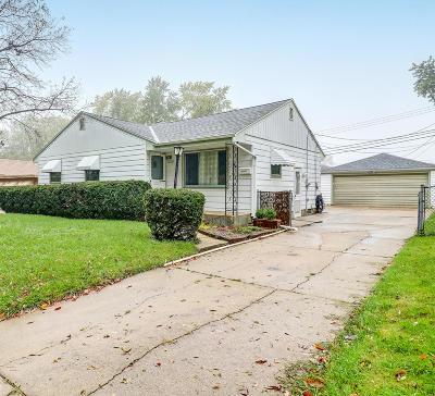 Milwaukee Single Family Home For Sale: 10532 W Sheridan Ave