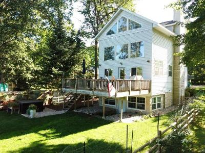 Single Family Home Active Contingent With Offer: N3873 Riverside Dr
