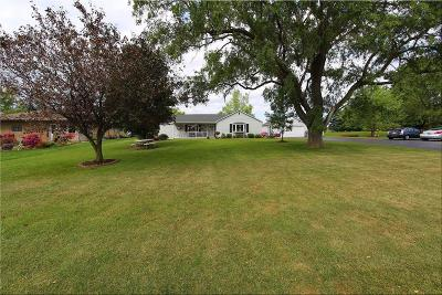 Racine County Single Family Home For Sale: 12024 4 Mile Road