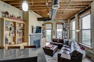 Milwaukee County Condo/Townhouse Active Contingent With Offer: 141 N Water St #50