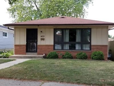 Milwaukee WI Single Family Home For Sale: $118,900
