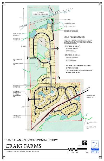 Mukwonago Residential Lots & Land For Sale: S104w26630 Maple Ave