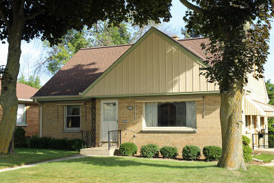 Greenfield Single Family Home For Sale: 4512 W Van Beck Ave