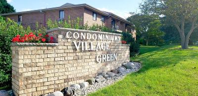 Greenfield Condo/Townhouse Active Contingent With Offer: 4518 S Greenridge Cir