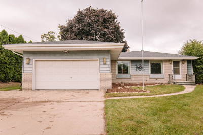 Menomonee Falls Single Family Home Active Contingent With Offer: N86w15190 Menomonee River Pkwy