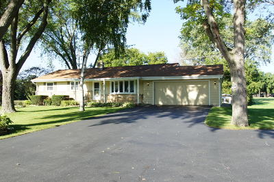 Muskego Single Family Home For Sale: W139s6755 Sherwood Cir