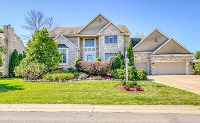 Menomonee Falls Single Family Home Active Contingent With Offer: N74w16115 Stonewood Dr