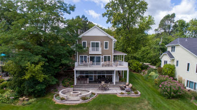 West Bend Single Family Home For Sale: 5446 W Lake Dr