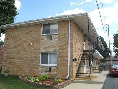 Milwaukee County Multi Family Home Active Contingent With Offer: 8111 W Lincoln Ave