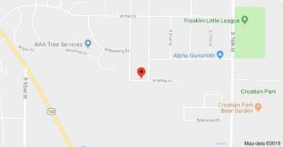 Franklin Residential Lots & Land For Sale: 8335 W Hilltop Ln #8455