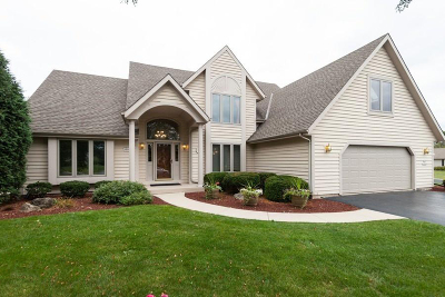 Menomonee Falls Single Family Home Active Contingent With Offer: N65w13827 Lilly Creek Dr