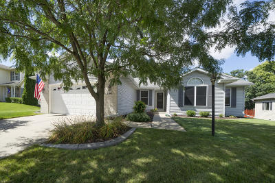 Waukesha Single Family Home Active Contingent With Offer: 2308 Brookstone Ln