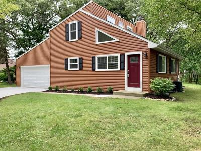 Pleasant Prairie Single Family Home Active Contingent With Offer: 8737 2nd Ave