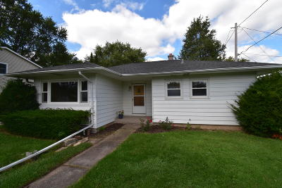 Greenfield Single Family Home Active Contingent With Offer: 4321 S 45th St