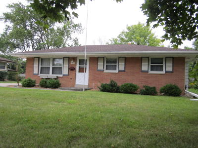 Menomonee Falls Single Family Home Active Contingent With Offer: N87w18029 Queensway