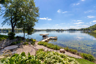 Mukwonago Single Family Home For Sale: W1773 Lake Rd