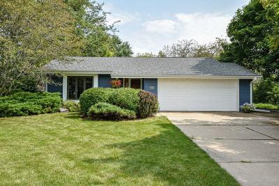 Muskego WI Single Family Home Active Contingent With Offer: $279,900