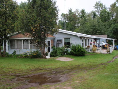 Single Family Home For Sale: W6928 Jamros Rd