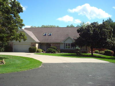 West Bend Single Family Home Active Contingent With Offer: 5990 Golf Ct
