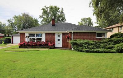 Racine Single Family Home For Sale: 1605 4 Mile Rd