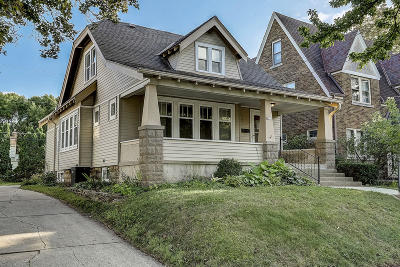 Wauwatosa Single Family Home For Sale: 8223 Portland Ave