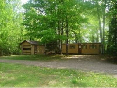 Forest County, Iron Wi County, Langlade County, Lincoln County, Oneida County, Vilas County Single Family Home For Sale: 7509 Little Pine Rd