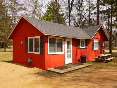 Forest County, Iron Wi County, Langlade County, Lincoln County, Oneida County, Vilas County Condo/Townhouse For Sale: 8698 Guest Rd #1
