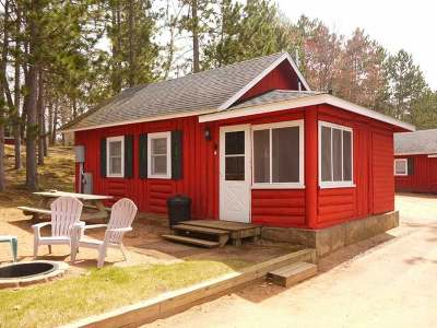 Forest County, Iron Wi County, Langlade County, Lincoln County, Oneida County, Vilas County Condo/Townhouse For Sale: 8709 Guest Rd #4