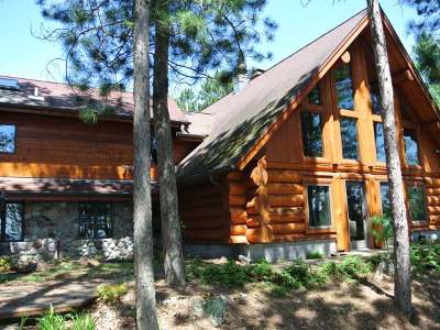 Three Lakes WI Single Family Home For Sale: $998,500