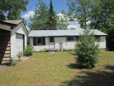 Forest County, Iron Wi County, Langlade County, Lincoln County, Oneida County, Vilas County Single Family Home For Sale: 3896 Wilson Lake Cr