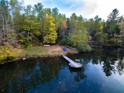 Forest County, Iron Wi County, Langlade County, Lincoln County, Oneida County, Vilas County Single Family Home For Sale: 7000 Indian Lake Rd