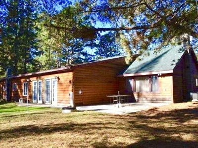 Forest County, Iron Wi County, Langlade County, Lincoln County, Oneida County, Vilas County Single Family Home For Sale: 5836 Hwy 17